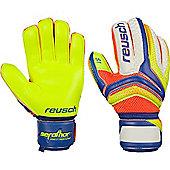 Reusch Serathor Prime S1 Finger Support Goalkeeper Gloves Size - Blue