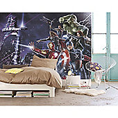 Marvel Avengers Avengers Citynight Wallpaper Mural 254 x 184cm