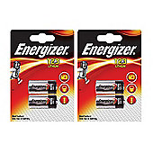 4 x Energizer CR123A CR123 123 3v Lithium Photo Battery