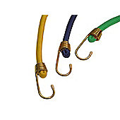 Olympia Bungee Cord Green 6-Piece Set 12 x 60cm