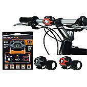 Nite Ize Inova Swipe To Shine Bike Light Orange