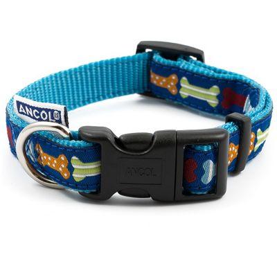Ancol Bone Adjustable Dog Collar - 1-2
