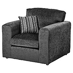 Taunton Armchair, Dark Grey