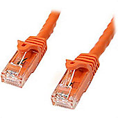 StarTech Cat6 Patch Cable with Snagless RJ45 Connectors - 7 m Orange