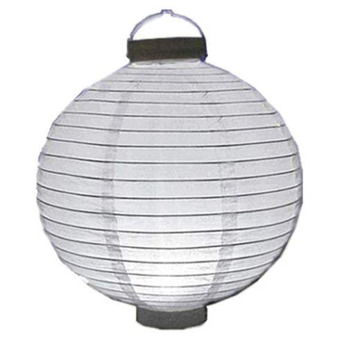 Loxton Lighting Battery Paper Lantern in White