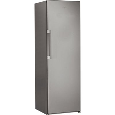 Whirlpool SW81QXRUK 369litre Tall Larder Fridge, Stainless Steel