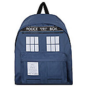 Doctor Who Tardis Blue Backpack 14x41x31cm