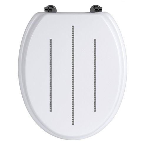 Premier Housewares Toilet Seat - White