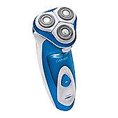 Carmen Sport Triple Head Shaver Blue