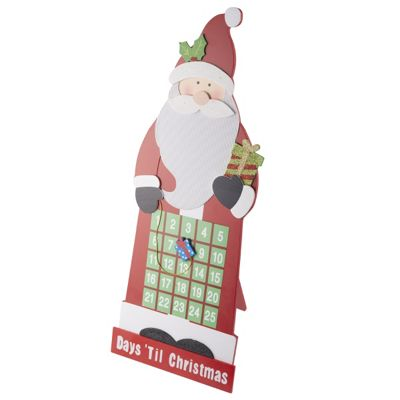 Santa Countdown Advent Calendar