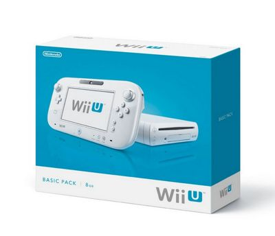 Wii U - 8GB Basic Pack (White)