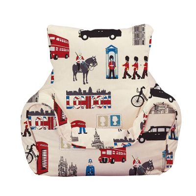 Children's Bean bag Chair - London