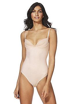 F&F Magic Shapewear Wear Your Own Bra No VPL Body - Nude