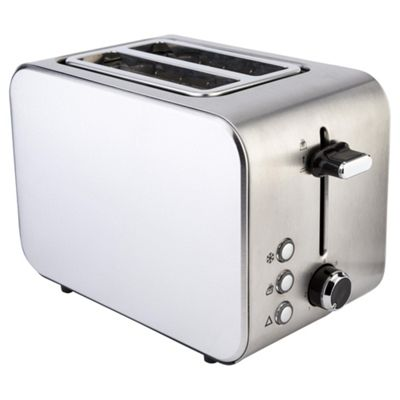 Buy Tesco 2 Slice Stainless Steel Toaster from our Toasters range ... | {Toaster 71}