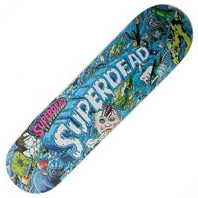 Superdead Superslime Garbage Skateboard Deck