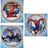 Spiderman Art Squares