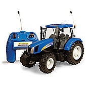 Britains Big Farm Radio Control New Holland T6070 Tractor.