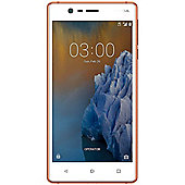 "Nokia 3 5"" 4G Smartphone MediaTek Quad-Core 2GB 16GB (Copper) - 11NE1R01A01"