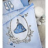 Disney Princess, Cinderella Single Bedding - 100% Cotton