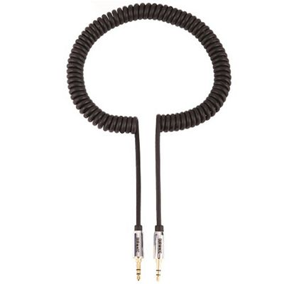 Duronic 24 K Plated 3.5 mm to 3.5 mm Jack Aux Cable for iPod/iPhone 3G/3GS/4G, MP3, Black 2m (2 Metre)