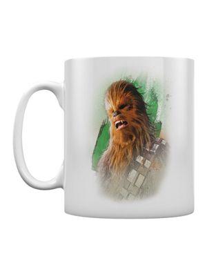 Star Wars The Last Jedi Chewacca Brushstroke Boxed 10oz Ceramic Mug