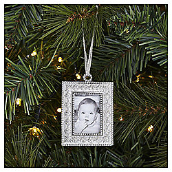 weiste silver photo frame christmas tree decoration