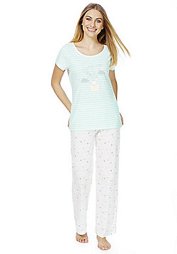 F&F Mouse Dreams Pyjamas - Blue