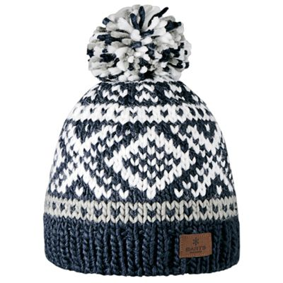 Barts Ladies Log Cabin Beanie Navy One Size