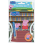Peppa Pig Library Scribble Set Stationery