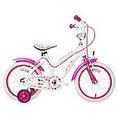 Terrain Daisy Chain 16 inch Wheel White Kids Bike
