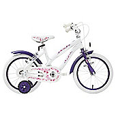 Terrain Daisy Chain 16 inch Wheel White Kids Bike
