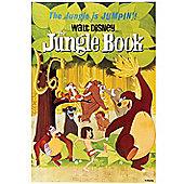 Disney Jungle Book 1967 Vintage Canvas Print Wall Art