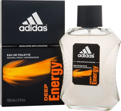 Adidas Deep Energy Eau de Toilette (EDT) 100ml Spray For Men