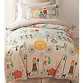 Glass Slipper, Cinderella Story Single Bedding and FREE Fairy Cushion