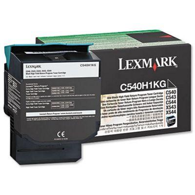 Lexmark C54x, X54x Programme Toner Cartridge (2K) -Cyan