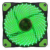 Game Max Gailforce 32 x Green LED 12cm Cooling Fan