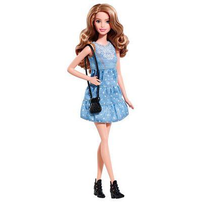 Barbie Fashionistas Doll - Denim Dress