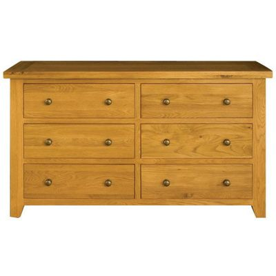 Alterton Furniture Vermont 6 Drawer Wide Chest