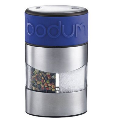 Bodum Twin Blue Salt and Pepper Grinders