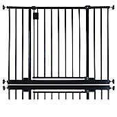 Safetots Extra Wide Hallway Gate Black 97cm - 103cm
