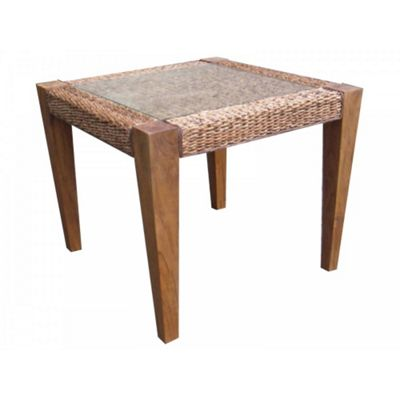 Milan Abaca Small Rattan Dining Table
