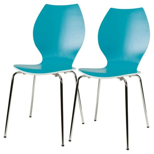 Candy Chairs Pair Aqua