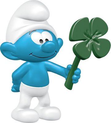 Schleich 20797 - The Smurfs Smurf With Clover Leaf