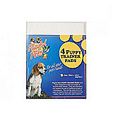 Playful Pets 4 Puppy Absorbent Trainer Pads 50x40cm