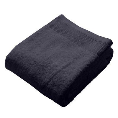 Homescapes Slate Luxury Bath Sheet 500 GSM 100% Egyptian Cotton, 95 x 150 cm