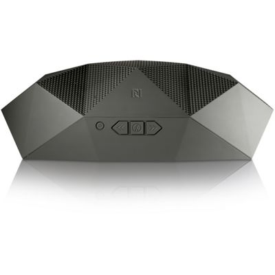 Big Turtle Shell Wireless Speaker Grey - Bluetooth 4.0 - Outdoor Tech