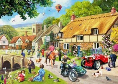 Leisure Days No1 - Summer Village - 1000pc Puzzle