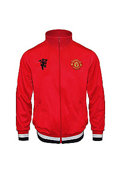 Manchester United FC Boys Track Jacket - Red