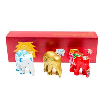 Elephant Parade Multi Pack Fortune Set of 3 x 7cm Size