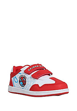 Marvel Spider-Man Riptape Trainers - Red